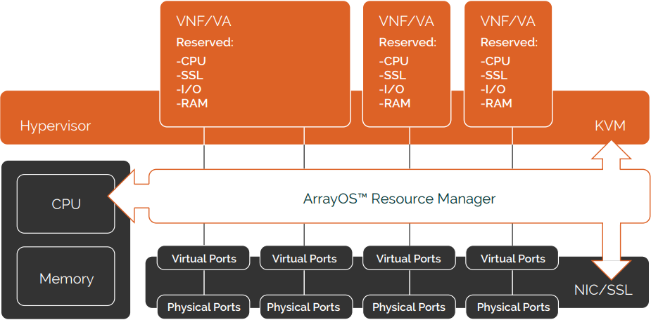 AVX Series Network Functions Platform Architecture